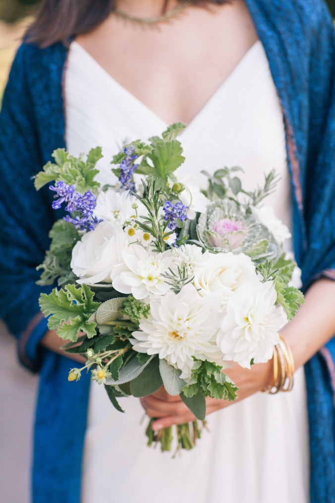 local flower bouquet